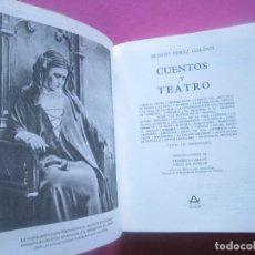 Libros de segunda mano: PEREZ GALDOS CUENTOS TEATRO Y CENSO AGUILAR. Lote 209964811