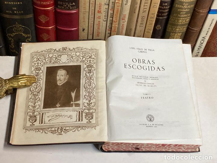 Libros de segunda mano: AÑO 1952 - LOPE DE VEGA TEATRO I - AGUILAR COLECCIÓN OBRAS ETERNAS 2ª EDICIÓN - Foto 2 - 210028661