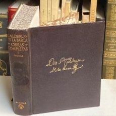 Libros de segunda mano: AÑO 1951 - CALDERÓN DE LA BARCA OBRAS COMPLETAS TOMO I DRAMAS - AGUILAR OBRAS ETERNAS. Lote 210031098