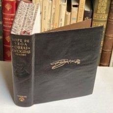 Libros de segunda mano: AÑO 1952 - LOPE DE VEGA TEATRO I - AGUILAR COLECCIÓN OBRAS ETERNAS 2ª EDICIÓN. Lote 210031375