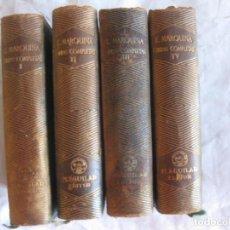 Libros de segunda mano: E. MARQUINA OBRAS COMPLETAS. 4 VOL. M. AGUILAR.. Lote 210146635