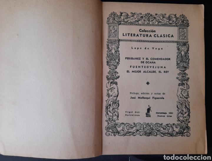 Libros de segunda mano: Dramas - Lope de Vega (1940, 1ª ed.) - Foto 2 - 210454235
