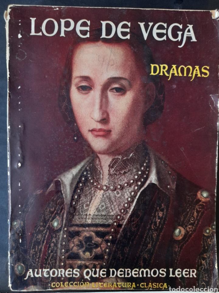 DRAMAS - LOPE DE VEGA (1940, 1ª ED.) (Libros de Segunda Mano (posteriores a 1936) - Literatura - Teatro)