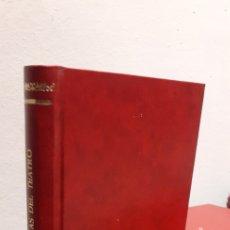 Libros de segunda mano: OBRAS MAESTRAS DEL TEATRO TOMO I. Lote 210628473