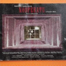 Livres d'occasion: AQUELARRE Y NOCHE ROJA DE NOSFERATU. FRANCISCO NIEVA. INAEM. 1993. 16 X 24 CM.. Lote 211768231