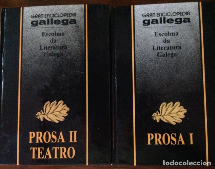 Libros de segunda mano: Escolma da Literatura Galega. Prosa y Teatro, 2 tomos. 1986 - Foto 2 - 212719127