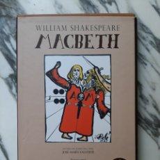 Libros de segunda mano: MACBETH - WILLIAM SHAKESPEARE - ILUSTRACIONES DE SALVADOR DALÍ - PLANETA - 2006. Lote 212743445
