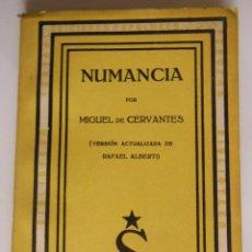 Libros de segunda mano: NUMANCIA. CERVANTES MIGUEL DE. 1937. Lote 213168290