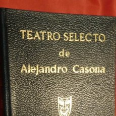Libros de segunda mano: TEATRO SELECTO DE ALEJANDRO CASONA AUTOR: CASONA, ALEJANDRO. Lote 213589340