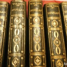 Libros de segunda mano: VICKI BAUM NOVELAS, 5 TOMOS. VICKI BAUM EDITORIAL: PLANETA, 1952. Lote 213642436