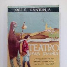 Libros de segunda mano: TEATRO PARA JOVENES Nº 194 - JOSÉ .S. SANTONJA - ESCELICER S. A.. Lote 213793226