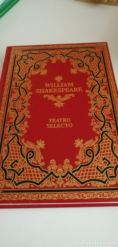 G-31 LIBRO WILLIAM SHAKESPEARE TEATRO SELECTO (Libros de Segunda Mano (posteriores a 1936) - Literatura - Teatro)