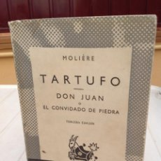 Libros de segunda mano: MOLIÈRE TARTUFO. DON JUAN.. Lote 216918598