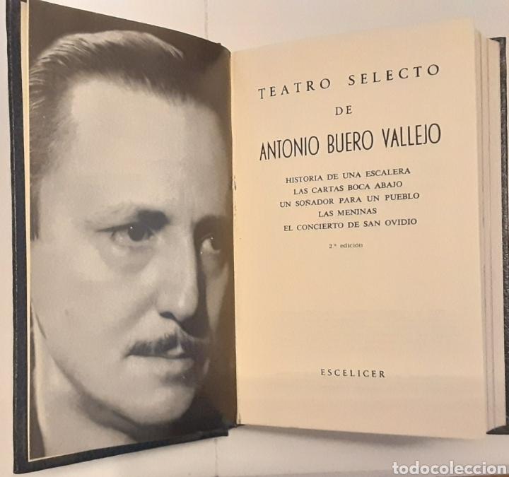 Libros de segunda mano: Teatro selecto, Antonio Buero Vallejo. Editorial Escelicer, S.A., 1972 - Foto 3 - 217049483