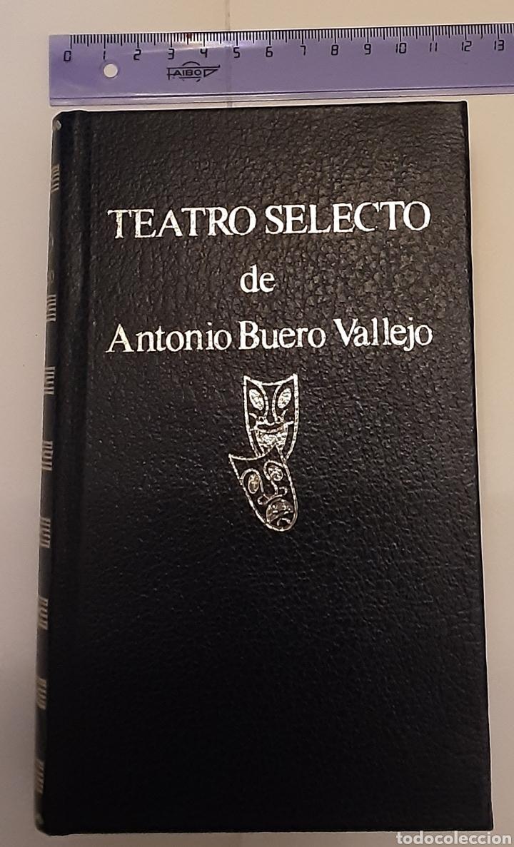 TEATRO SELECTO, ANTONIO BUERO VALLEJO. EDITORIAL ESCELICER, S.A., 1972 (Libros de Segunda Mano (posteriores a 1936) - Literatura - Teatro)