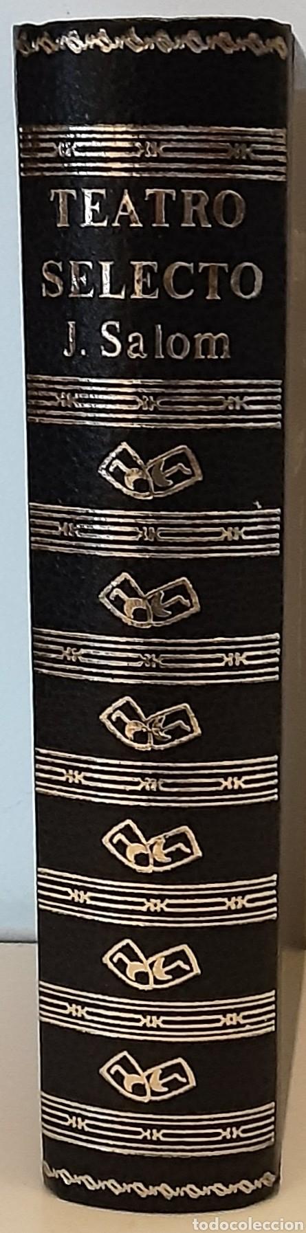 TEATRO SELECTO, JAIME SALOM. EDITORIAL ESCELICER, 1971 (Libros de Segunda Mano (posteriores a 1936) - Literatura - Teatro)