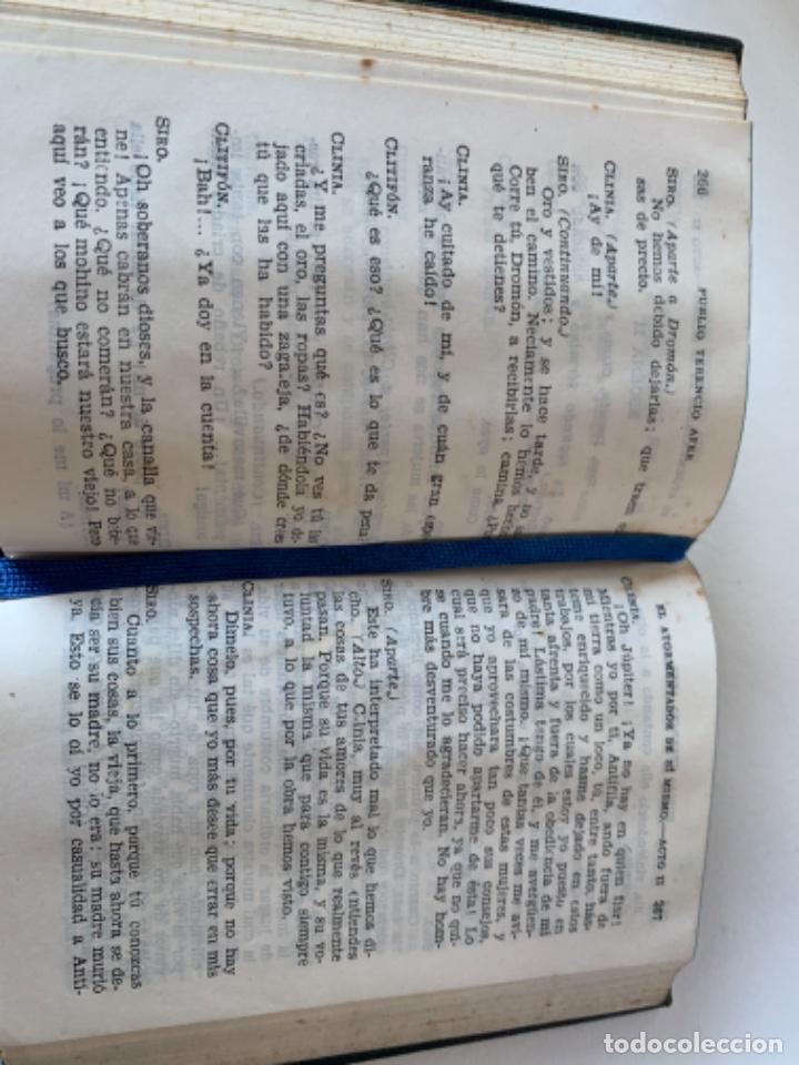 Libros de segunda mano: Crisol número 104 Teatro completo de Terencio - Foto 3 - 217401897