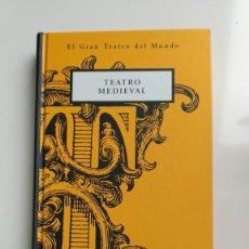 Libros de segunda mano: EL GRAN TEATRO DEL MUNDO - TEATRO MEDIEVAL - ORBIS FABRI ¡¡¡OFERTA!!!. Lote 217446908