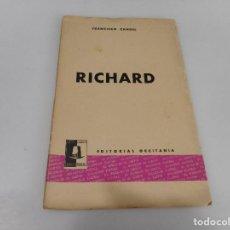 Libros de segunda mano: FRANCISCO CANDEL RICHARD Q2813T. Lote 218126025