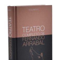 Libros de segunda mano: TEATRO COMPLETO DE FERNANDO ARRABAL. VOLUMEN II - ARRABAL, FERNANDO. Lote 242016465