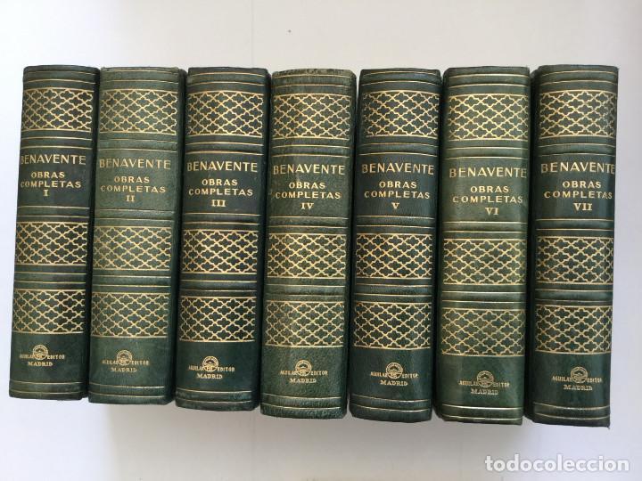 JOYA EDICIÓN DE LUJO, BENAVENTE, AGUILAR (Libros de Segunda Mano (posteriores a 1936) - Literatura - Teatro)