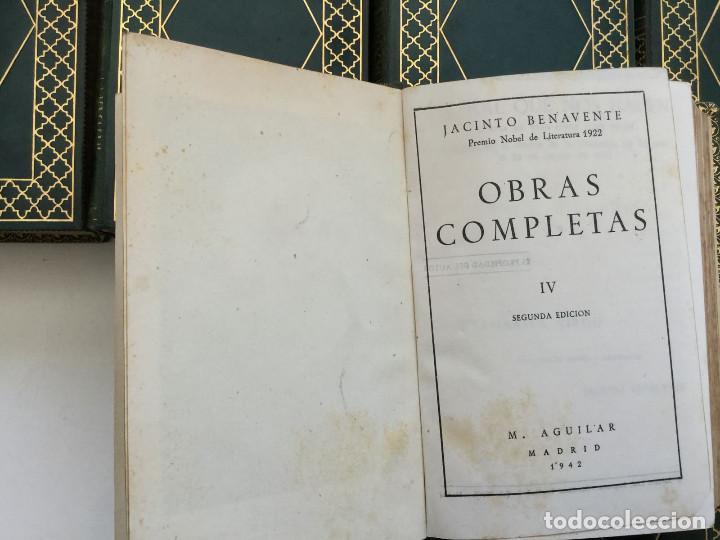 Libros de segunda mano: Joya Edición de Lujo, Benavente, Aguilar - Foto 5 - 218492175
