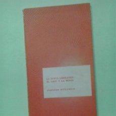 Libros de segunda mano: LMV - LA NUEVA LIBERACIÓN / EL LOCO Y LA MONJA. STANISLAW WITKIEWICZ. Lote 218525910