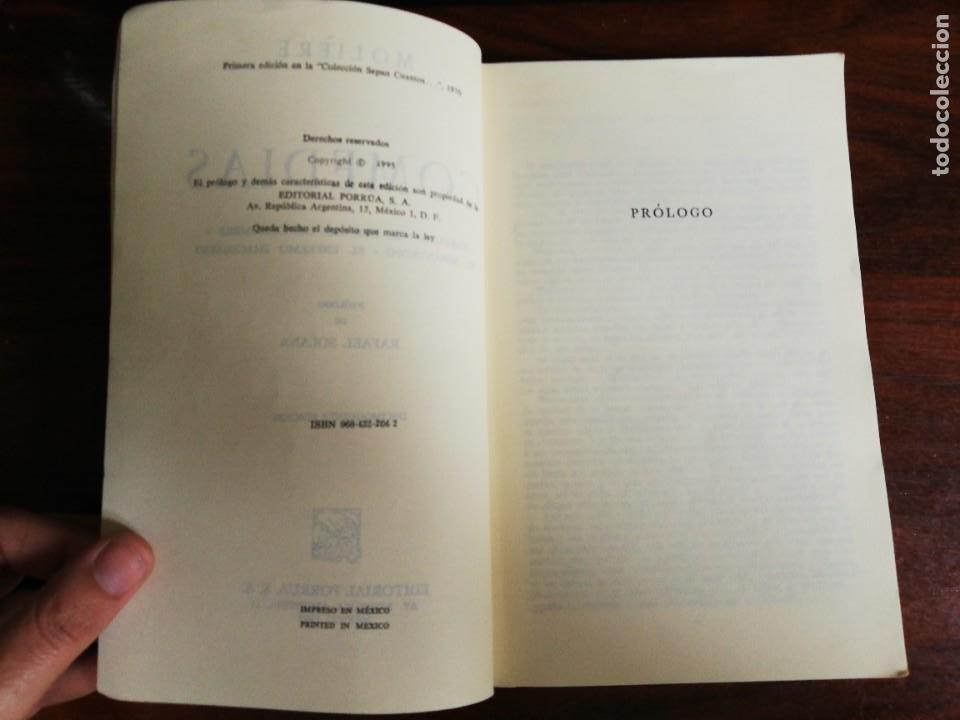 Libros de segunda mano: MOLIERE - COMEDIAS: TARTUFO, EL BURGUÉS GENTILHOMBRE, EL MISÁNTROPO, EL ENFERMO IMAGINARIO - Foto 4 - 218687496
