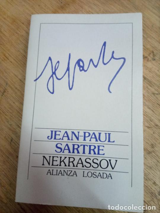 JEAN-PAUL SARTRE: NEKRASSOV (Libros de Segunda Mano (posteriores a 1936) - Literatura - Teatro)