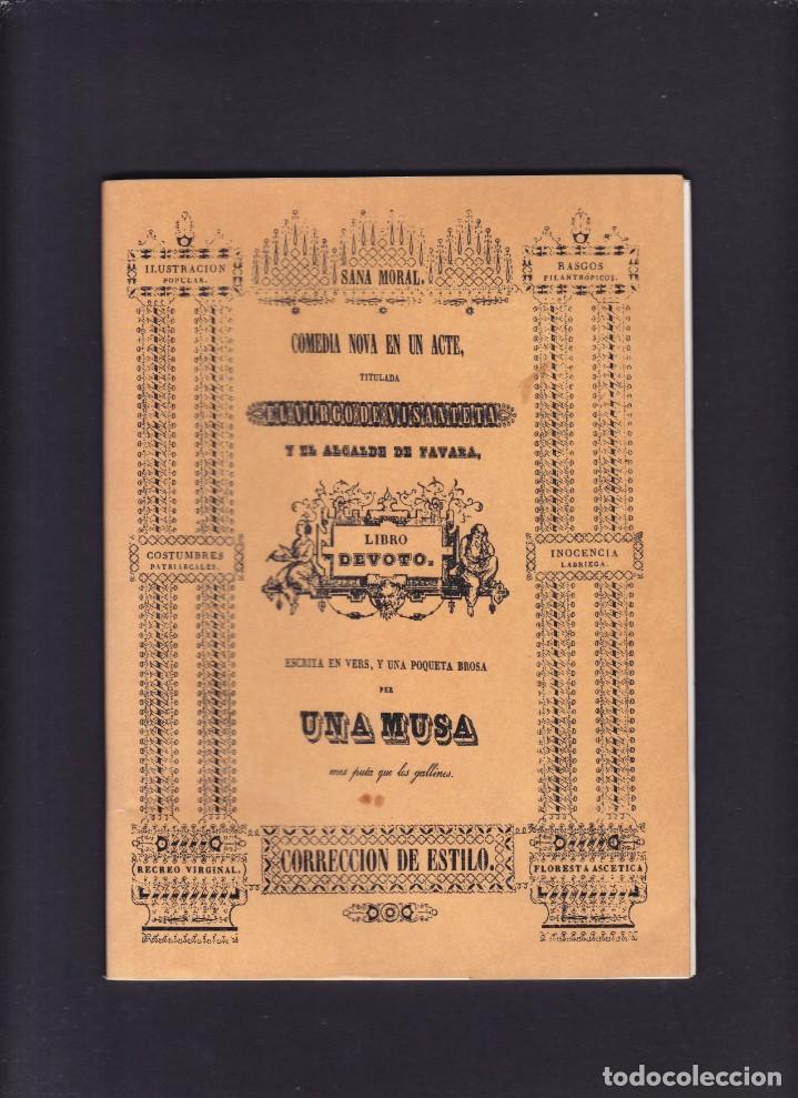 EL VIRGO DE VISANTETA - FACSIMIL 1991 (Libros de Segunda Mano (posteriores a 1936) - Literatura - Teatro)