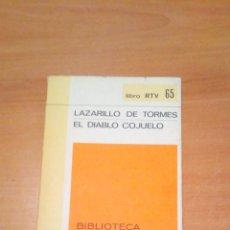 Libros de segunda mano: EL DIABLO COJUELO. Lote 218936608