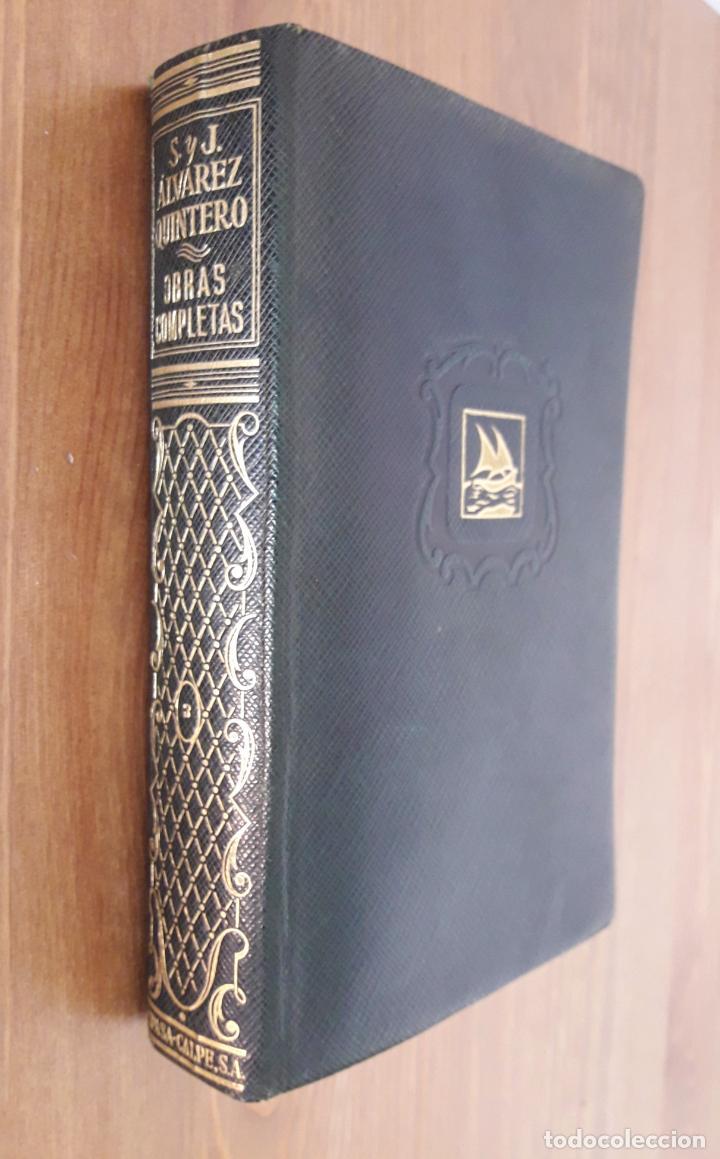 ALVAREZ QUINTERO. OBRAS COMPLETAS. TOMO 3 (Libros de Segunda Mano (posteriores a 1936) - Literatura - Teatro)