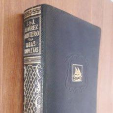 Libros de segunda mano: ALVAREZ QUINTERO. OBRAS COMPLETAS. TOMO 3. Lote 218974530