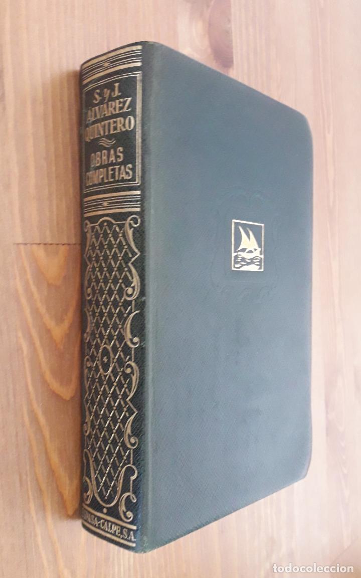 ALVAREZ QUINTERO, OBRAS COMPLETAS -TOMO 4 (Libros de Segunda Mano (posteriores a 1936) - Literatura - Teatro)