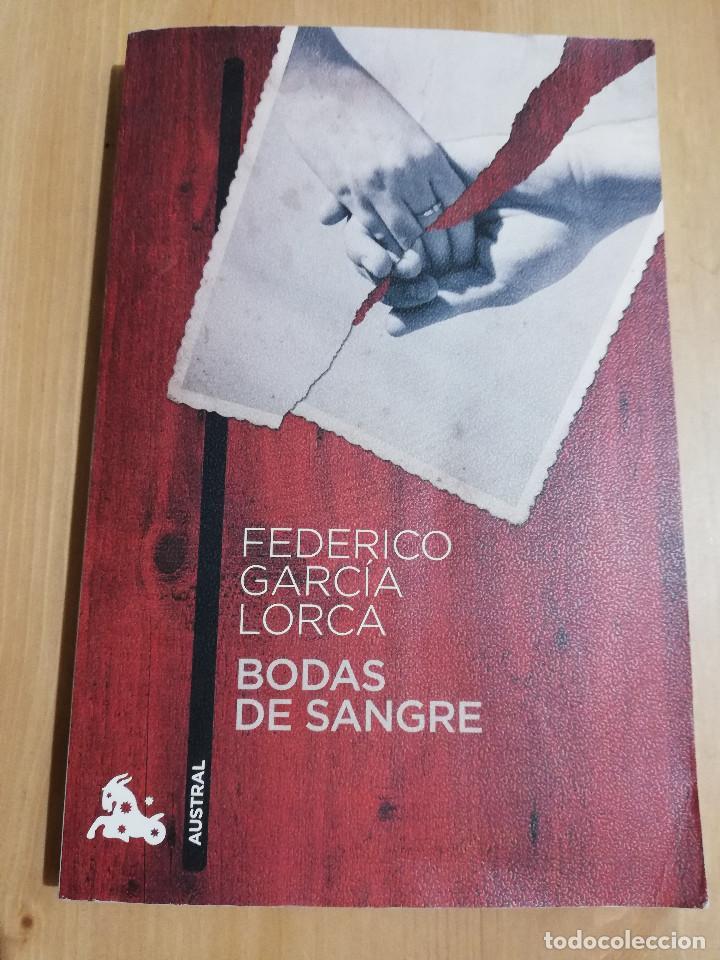 BODAS DE SANGRE (FEDERICO GARCÍA LORCA) (Libros de Segunda Mano (posteriores a 1936) - Literatura - Teatro)