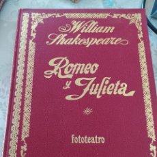 Libros de segunda mano: WILLIAM SHAKESPEARE ROMEO Y JULIETA. Lote 219614617