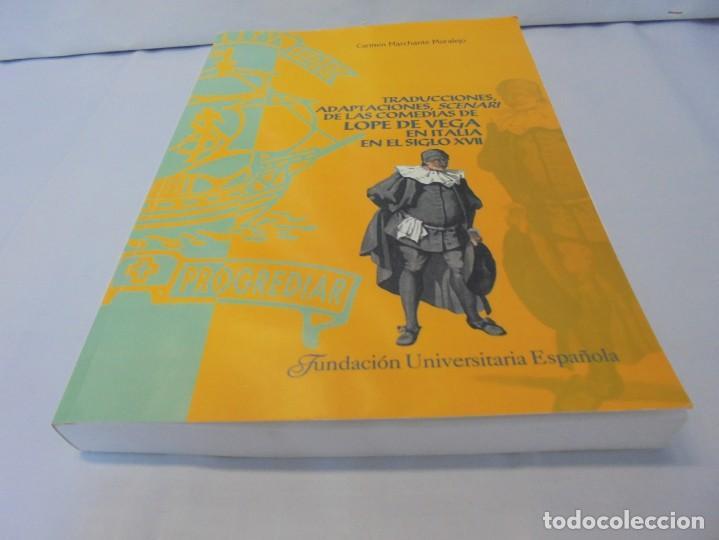 Libros de segunda mano: TRADUCCIONES, ADAPTACIONES, SCENARI DE LAS COMEDIAS DE LOPE DE VEGA EN ITALIA EN EL SIGLO XVII. 2007 - Foto 3 - 220500621