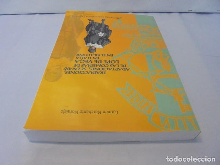 Libros de segunda mano: TRADUCCIONES, ADAPTACIONES, SCENARI DE LAS COMEDIAS DE LOPE DE VEGA EN ITALIA EN EL SIGLO XVII. 2007 - Foto 5 - 220500621