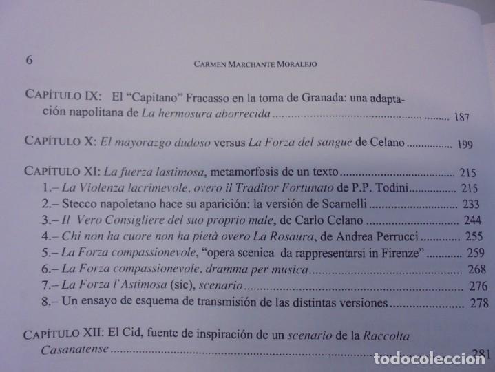 Libros de segunda mano: TRADUCCIONES, ADAPTACIONES, SCENARI DE LAS COMEDIAS DE LOPE DE VEGA EN ITALIA EN EL SIGLO XVII. 2007 - Foto 9 - 220500621