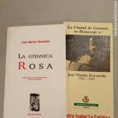 Libros de segunda mano: JOSÉ MARTÍN RECUERDA LA TITÁNICA ROSA 2007 LIBRO Y FOLLETO. Lote 220687815