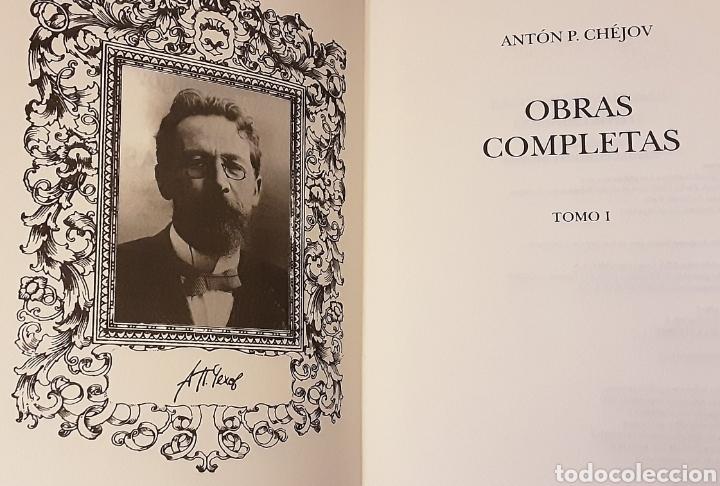 Libros de segunda mano: Chejov, Antón P. Obras Completas. Teatro, tomo I. Contiene estudio preliminar. RBA, 2005 - Foto 4 - 221004435