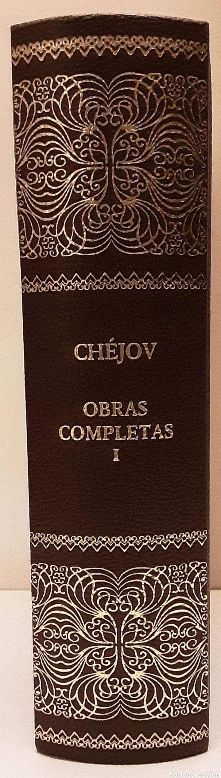 CHEJOV, ANTÓN P. OBRAS COMPLETAS. TEATRO, TOMO I. CONTIENE ESTUDIO PRELIMINAR. RBA, 2005 (Libros de Segunda Mano (posteriores a 1936) - Literatura - Teatro)