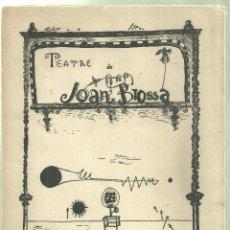 Libros de segunda mano: 4010.- DAU AL SET - TEATRE DE JOAN BROSSA DAU AL SET OCTUBRE/NOVEMBRE DE 1952-MODEST CUIXART. Lote 221342126