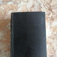 Livres d'occasion: TEATRO COMPLETO, DE MAX AUB.. Lote 221807143