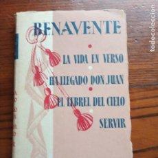 Libros de segunda mano: CUATRO COMEDIAS. JACINTO BENAVENTE.. Lote 221826736