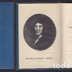 Libros de segunda mano: TARTUFO. EL AVARO. LAS PRECIOSAS RIDICULAS. CRISOL LITERARIO N.º 85 - MOLIERE, J. B. - A-CRISOL-1265. Lote 221956296