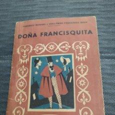 Libros de segunda mano: DOÑA FRANCISQUITA BIBLIOTECA TEATRAL. Lote 222679025