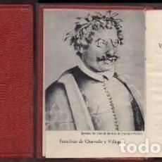 Libros de segunda mano: VIDA DEL BUSCON. SUEÑOS Y DISCURSOS. COL. CRISOL Nº 15 - DE QUEVEDO, FRANCISCO - A-CRISOL-1332. Lote 222696476