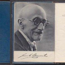 Libros de segunda mano: LOS INTERESES CREADOS. LA CIUDAD ALEGRE Y CONFIADA. CARTAS DE MUJERES - BENAVENTE, J.- A-CRISOL-1333. Lote 222696675