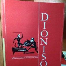 Libros de segunda mano: REVISTA DE IVESTIGACIÓN,CREACIÓN Y CRÍTICA TEATRAL DIONISO Nº 7, CÁCERES JUNIO-DICIEMBRE 2012. Lote 222742006